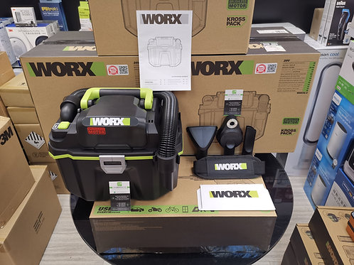 WORX 威克士 WU036.9 20V 鋰電無刷吸/吹塵/水機(乾/濕)淨機 - Vacuum Cleaner/Blower(Wet/Dry)