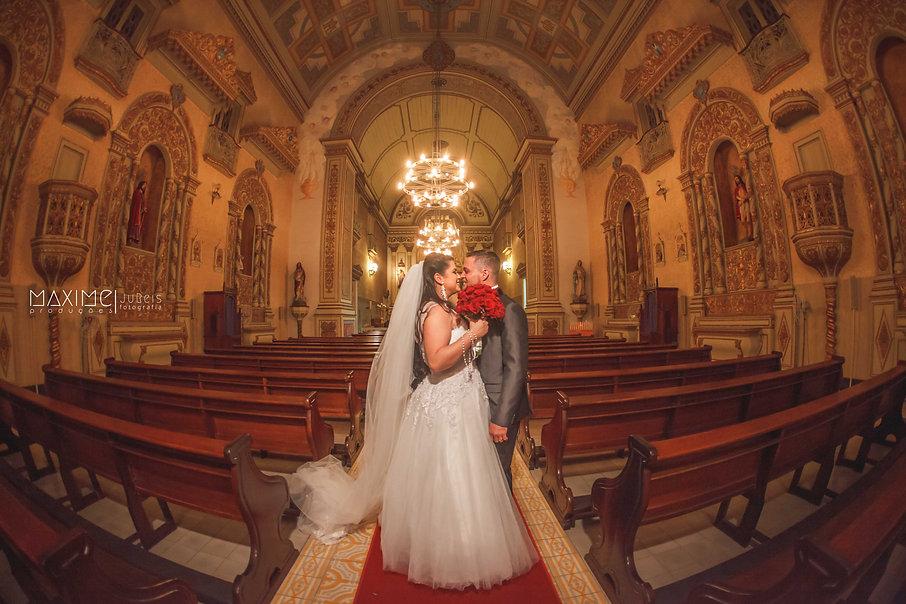 Casamento na Igreja das Dores em Porto Alegre/RS