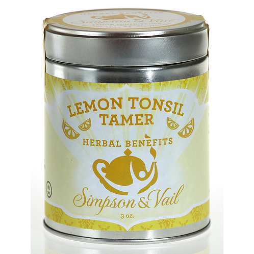 Lemon Tonsil Tamer Herbal Tea
