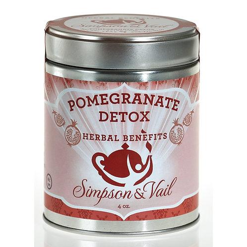 Pomegranate Herbal Detox Tea