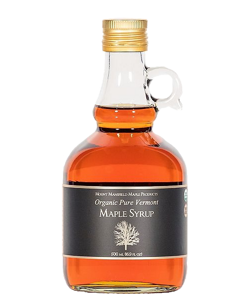 Mount Mansfield 100 % Pure Organic Maple Syrup