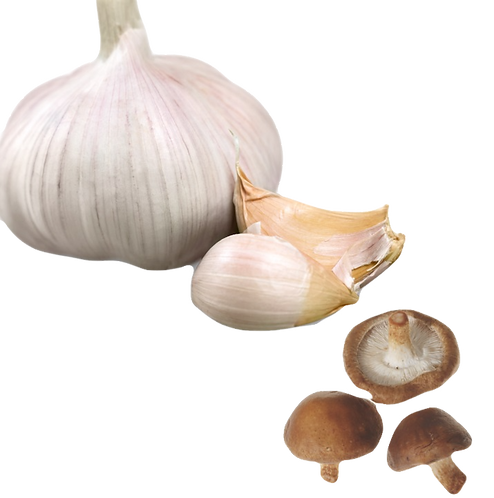 Garlic Mushroom Infused Olive Oil