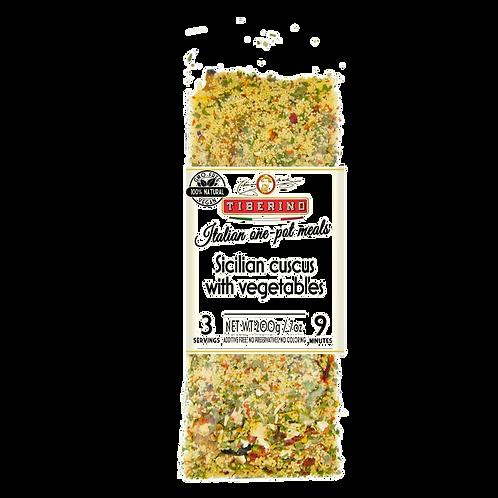 Sicilian Cuscus w/Vegetables