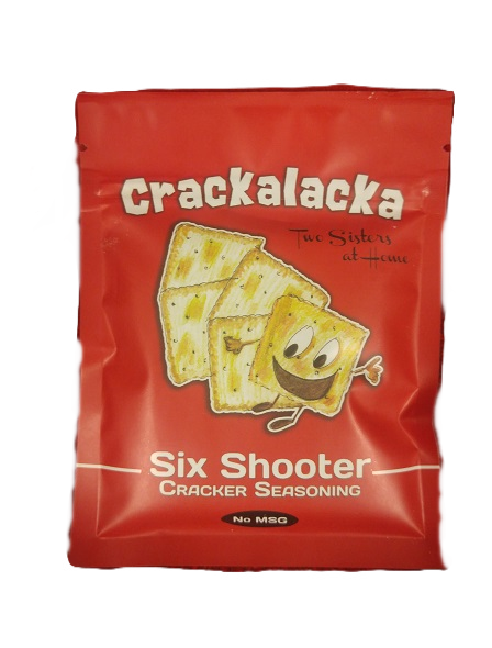 Six Shooter Crackalacka Cracker Seasoning