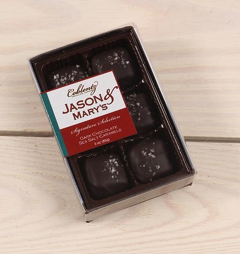 Mini Dark Chocolate Sea Salt Caramel Gift Set