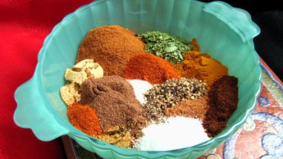 Moroccan Spice Dipping Oil