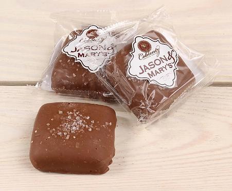 Oversized Milk Chocolate Sea Salt Caramels
