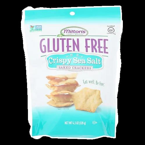 Milton's GF Sea Salt Baked Crackers