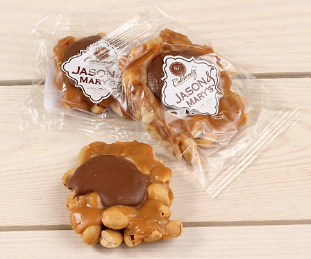 Oversized Milk Chocolate Cashew Snappers