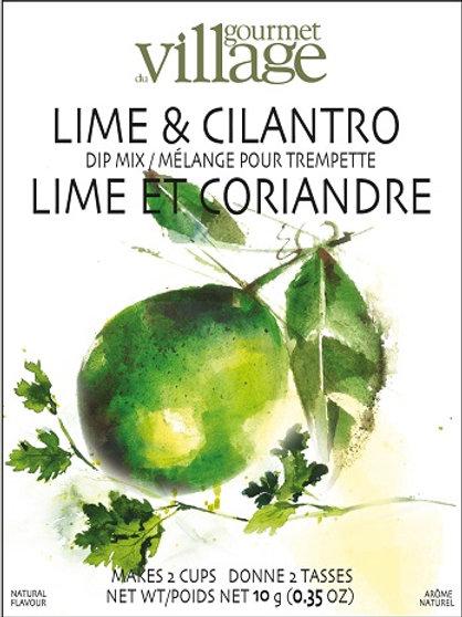 Lime Cilantro Dip Mix