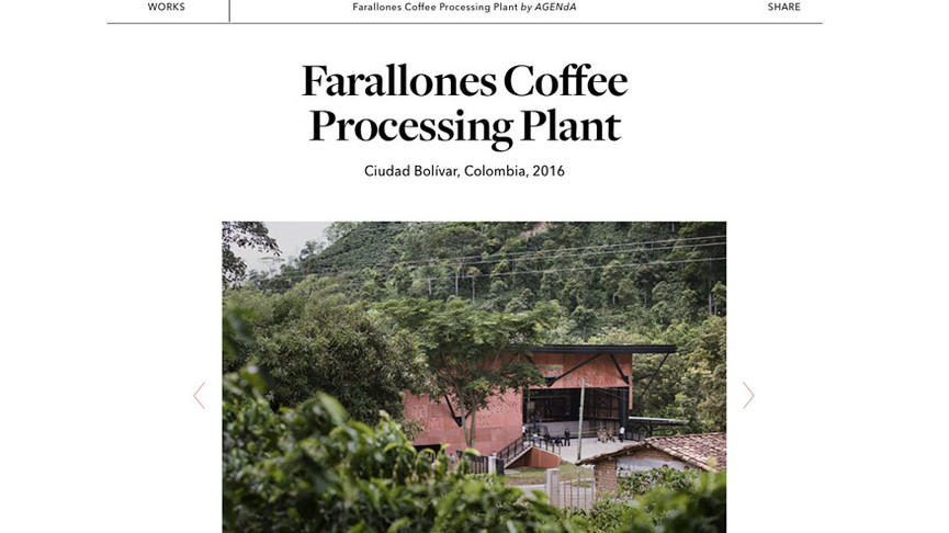 Farallones Coffee Processing Plant