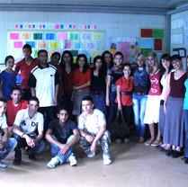Improvisation Workshop  with Balkan Sunfowers, Roma village in Kosovo