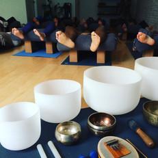 Sound and Restorative Yoga