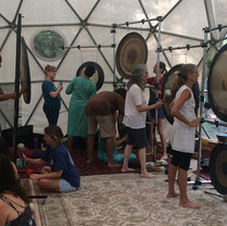 Gong Workshop at Maha Rose Sound School