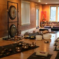 Sound Bath at Sage Academy