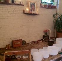 Sound Bath at Maha Rose