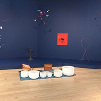 Sound Bath. Whitney Museum at Alexander Calder Exhibit, NYC