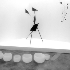 Sound Bath with Calder exhibit at Hauser and Wirth Gallery, Los Angeles