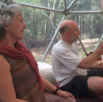 Frank and Judi Bosco, guest lecturers at Maha Rose Sound School