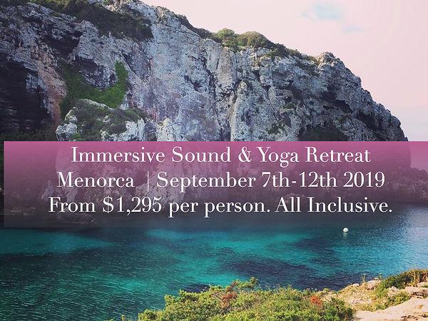 Immersive Sound & Yoga Retreat Informati