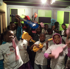 """""""Ukes and Kids South Africa"""" project - recording our album"""