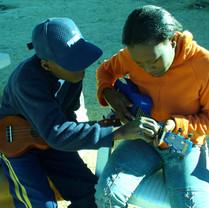 Kids teaching kids uke! Johannesburg, SA