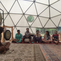Michael Jay, guest instructor at Maha Rose Sound School