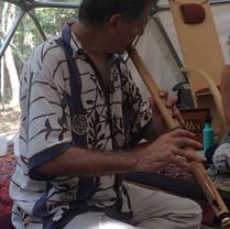 Steve Gorn, guest lecturer in Nada Yoga at Maha Rose Sound School.