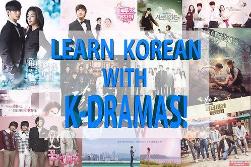 Workshop #4: K-Drama Edition!