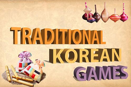 Workshop #5: Let's play Korean games!