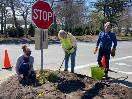 Spring Clean-Up - Members at Work
