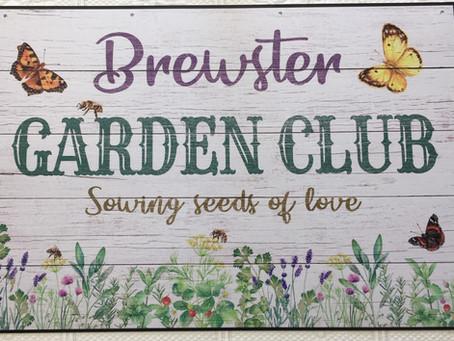 Garden Club at Brewster in Bloom