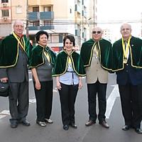 Desfile dos acadêmicos