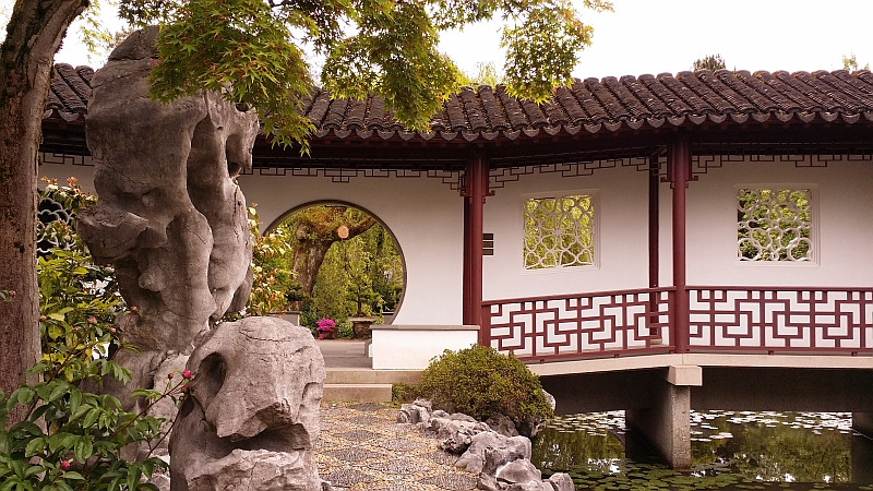 Dr Sun Yat-Sen Gardens in Vancouver BC
