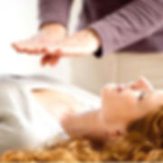 Reiki energy work chakra balancing in seattle relaxation combine with foot massage for health and well being