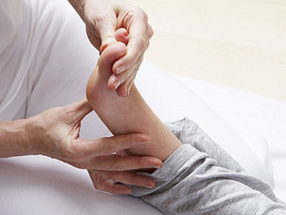 Reflexology may be as effective as painkillers