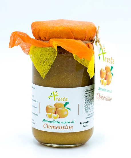 Marmellata extra di Clementine