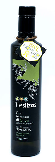 Olio d'oliva biologico TresLizos - il Giglio