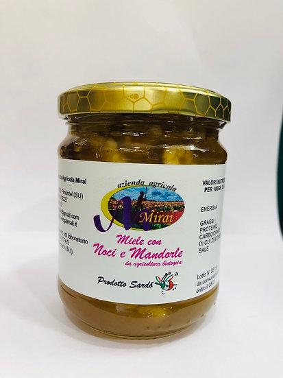 Miele con Noci e Mandorle