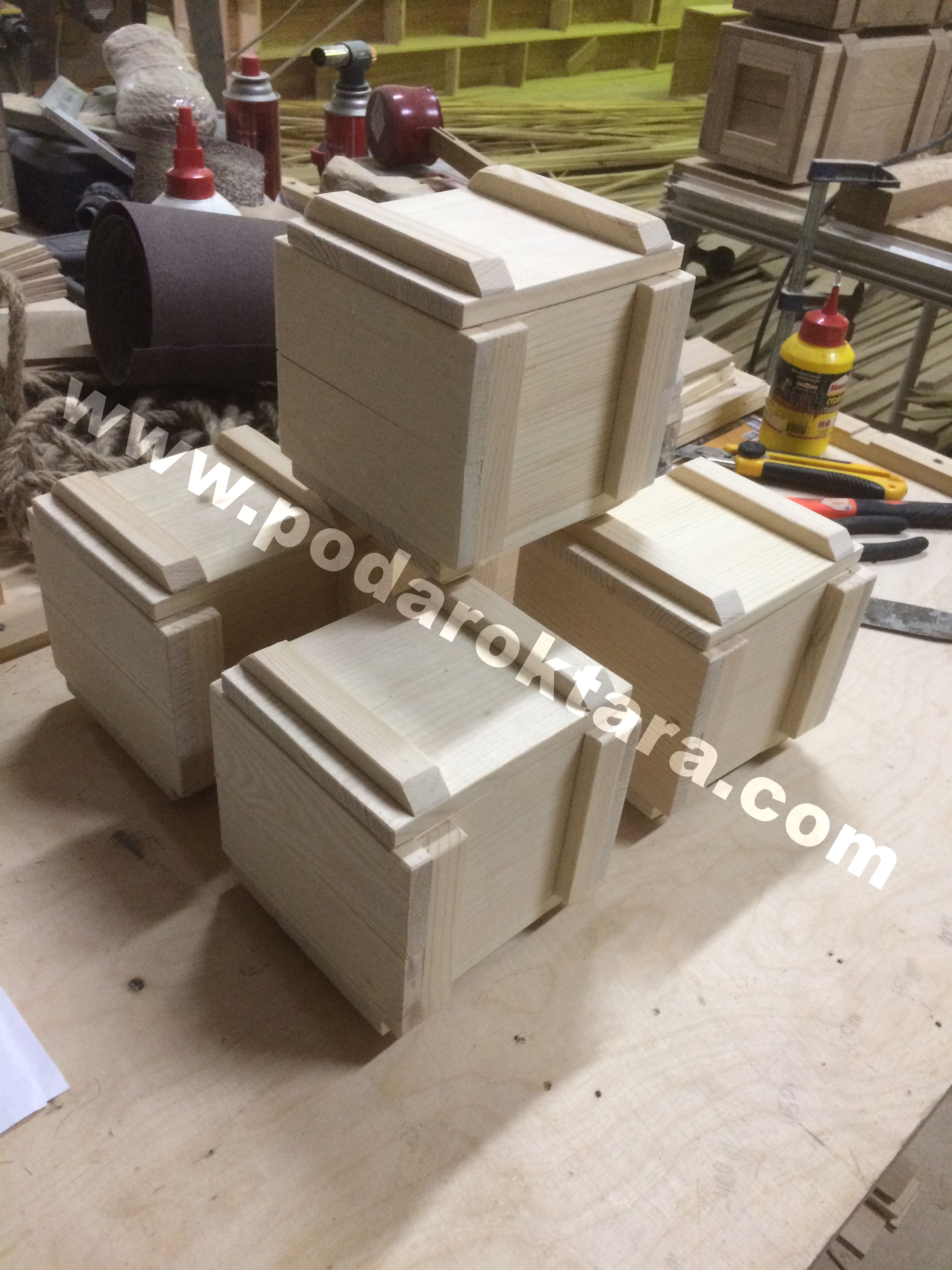 Ящик деревянный