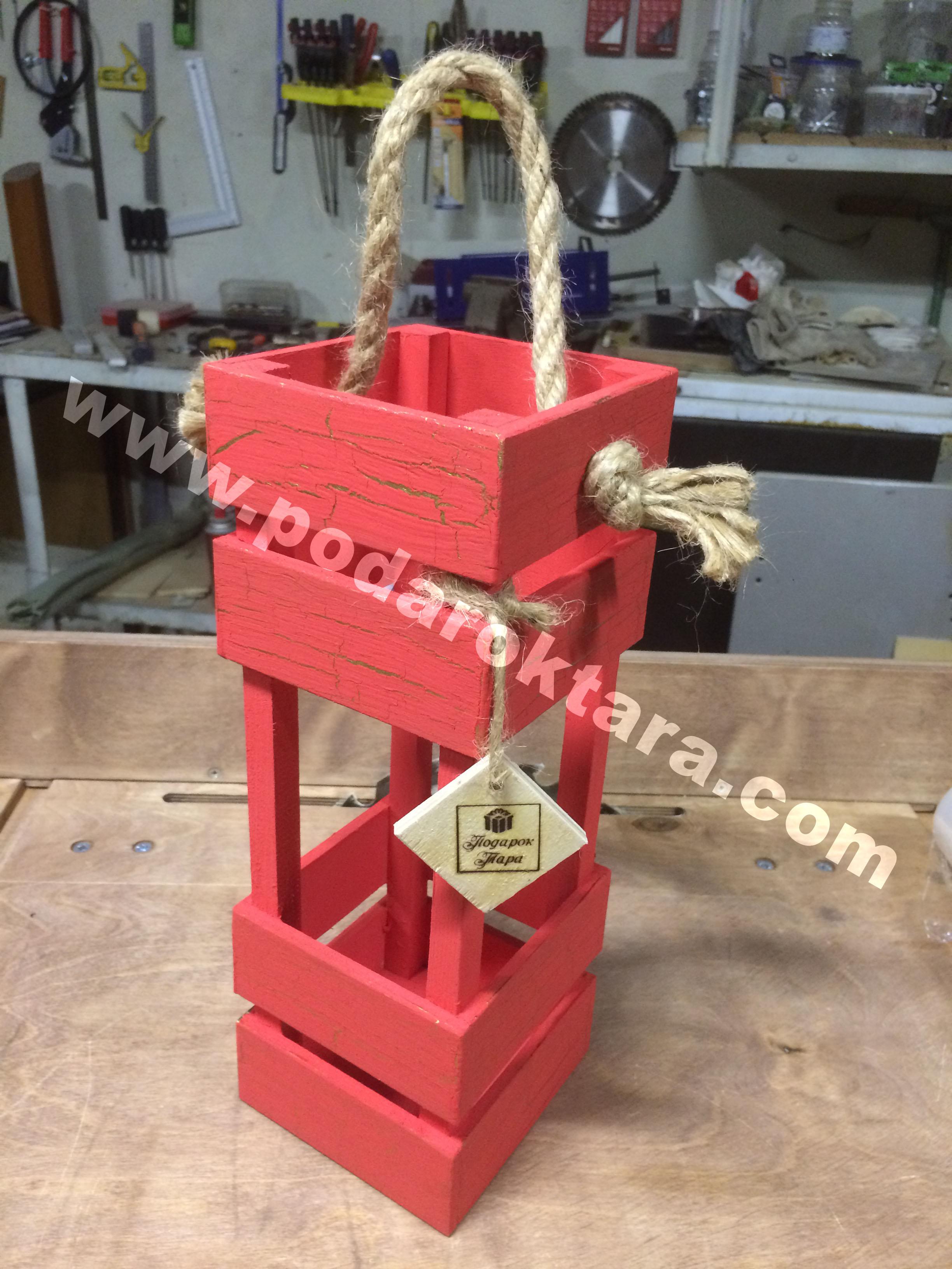 Ящик декоративный для спиртного
