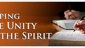 """The Body of Christ - Part 9 """"Keeping the Unity of the Spirit"""""""