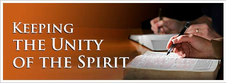 "The Body of Christ - Part 9 ""Keeping the Unity of the Spirit"""