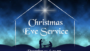 Christmas Message from Pastor Kevin
