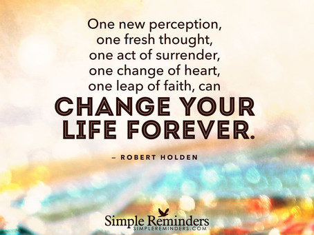 """""""A Change of Heart – A Leap of Faith"""""""
