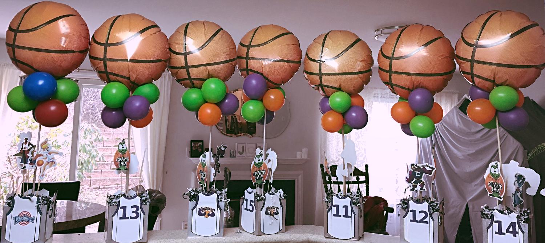 Basketball Centerpieces