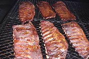 Low and slow pork spar ribs