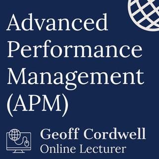 Advanced Performance Management (APM)