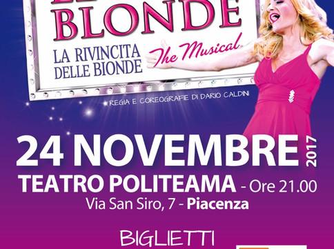 Le Bionde tornano a Piacenza!