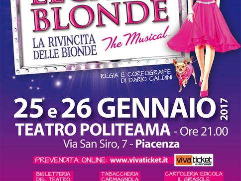 Legally Blonde a Piacenza!